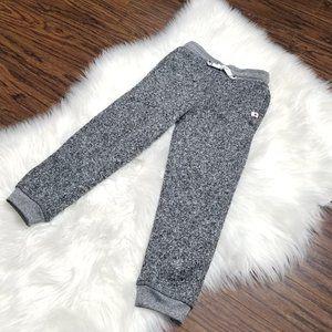 Canadiana NWOT Heathered Gray Knit Kid Jogger